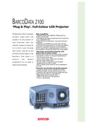 Barco R9829510 User Manual