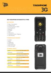 JCB Sitemaster 3G TP803 Leaflet