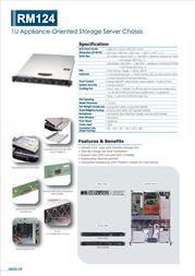 Chenbro Micom RM12404B RM12404BH-001 Leaflet
