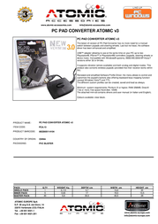 Atomic Accessories PCA.13 Leaflet