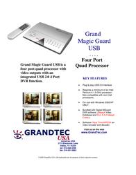 GrandTec Grand Magic Guard USB Leaflet