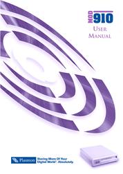 Plasmon MOD 910 User Manual
