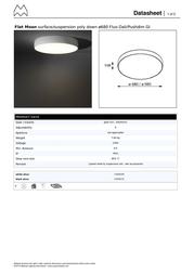 Modular Flat Moon 11836232 Data Sheet