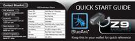 BlueAnt Z9 Bluetooth Headset Leaflet