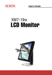 Proview XM7-19w User Manual