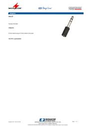 Monacor HA-37 06.0320 Leaflet
