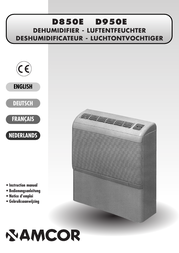 Amcor D950E User Manual