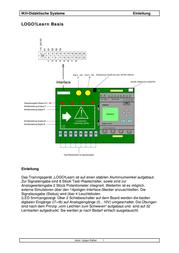 Ikh Lehrsysteme 100100 Training Device LOGO! Learn Basic 100100 Data Sheet