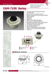 ACTi CAM-7100 Leaflet