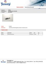 Tecnostyl ACR005 Leaflet