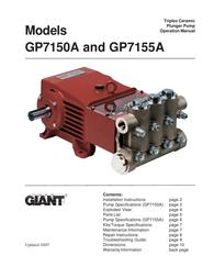 Giant Coffeemaker GP7150A User Manual