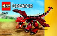 Lego Creator LEGO® CREATOR 31032 ROTE KREATUREN 31032 User Manual