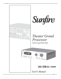 Sunfire TGP-5(E) User Manual