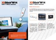 4G Systems XSStickP14 (HSDPA UMTS Stick) 2000.000092.00 Leaflet
