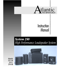 Atlantic Technology 251 LR User Manual