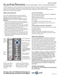 X10 cr14a Owner's Manual