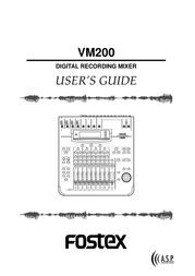Fostex VM200 User Manual