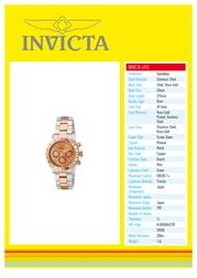 Invicta 6933 Specification Guide