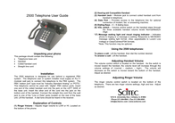 Scitec 2500 Leaflet