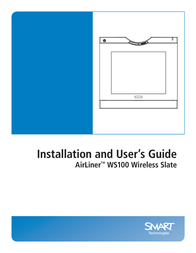 SMART Technologies AIRLINER WIRELESS SLATE WS100 User Manual