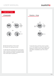 Swatch adh6120 User Guide