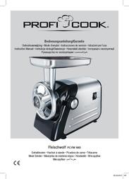ProfiCook PC-FW 1003 501003 Data Sheet