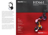 Superlux HD661RS Leaflet