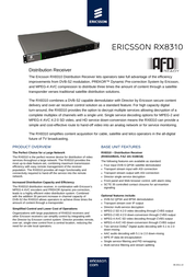 Ericsson RX8310 User Manual