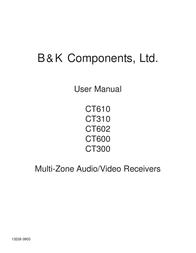 B&K CT600 User Manual