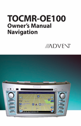 Advent TOCMR-OE100 User Manual