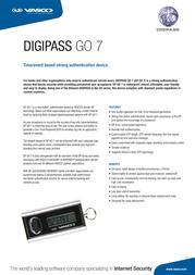 Vasco Digipass Go 7 5414602172013 Leaflet
