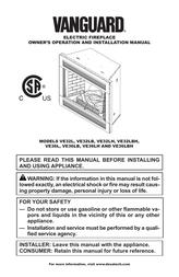 Vanguard VE32LH User Manual
