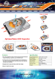EverCool Sonic HD-SC Leaflet