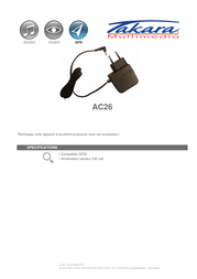 Takara AC26 Leaflet