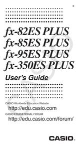 Casio Fx 82es Plus User Manual Page 1 Of 32 Manualsbrain Com