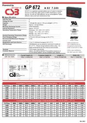 CSB GP1272 F2 GP1272 Leaflet