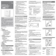 Eberle Cordless receiver Surface-mount Eberle INSTAT 868-a 0536 30 140 002 Leaflet