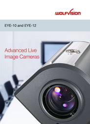 WolfVision EYE-12 100010 User Manual