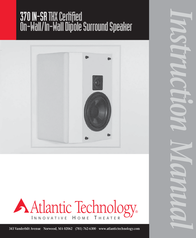 Atlantic Technology 370IN-SRTHX User Manual