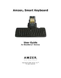 Cingular Amzer Smart Keyboard User Manual