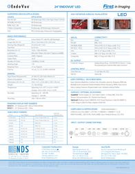 NDS Surgical Imaging EndoVue 24'' 90K0010 Leaflet