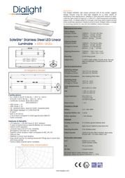 Dialight ELA-1C3M-SSCB Leaflet