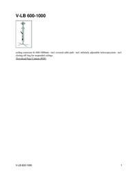 Hagor V-LB 600-1000 Leaflet