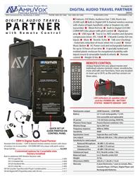 AmpliVox B9154 Leaflet