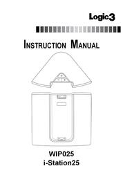 Logic3 i-Station25 WIP025* User Manual