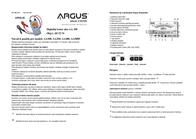 Argus Car battery tester 12 V AA350 User Manual