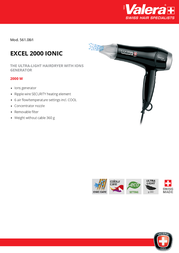 Valera Excel 2000 Ionic 561.08/I Leaflet
