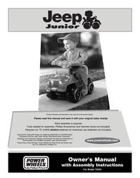 Jeep 74240 User Manual