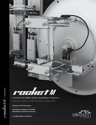Ubiquiti Networks Rocket M5 UBIQUITI  ROCKETM5 Data Sheet