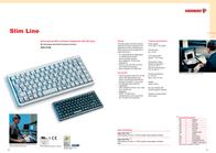 Cherry SLIM LINE NOTEBOOK KEYBOARD BLACK G84-4100PTMBE Leaflet